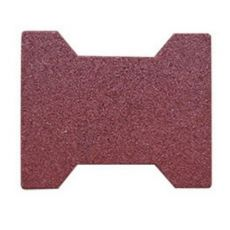 Dog Bone 195mm x 160mm 45mm Full Pigmented Red